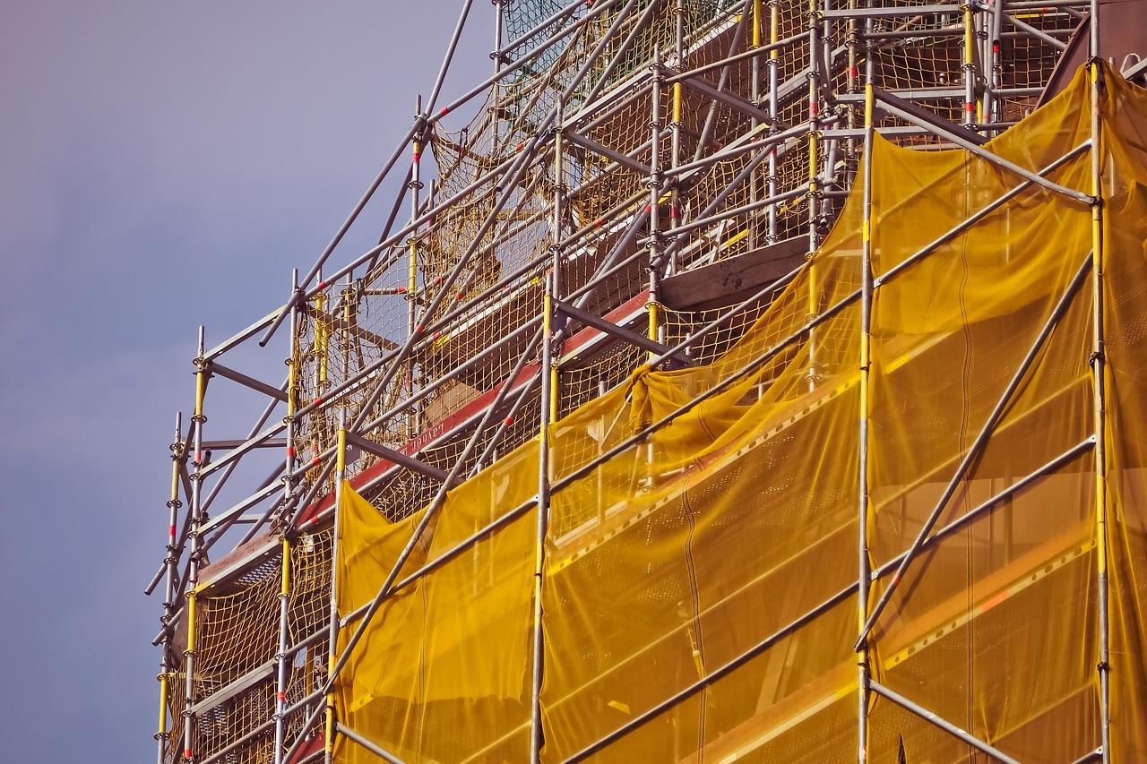 scaffold, architecture, building